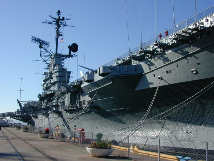 7. Tour the USS Hornet in Alameda—and brave the ghosts. This is said to be one of the most haunted warships in the American Navy.