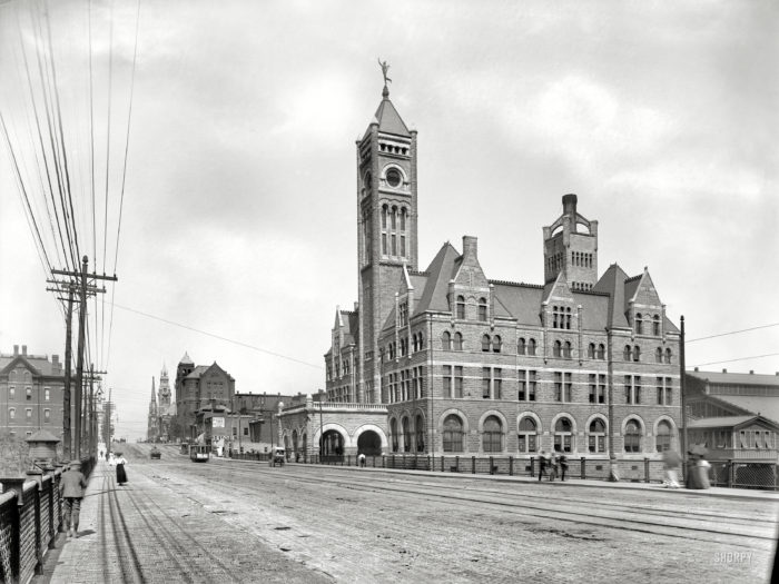 8. Gorgeous Union Station - check those dirt roads!