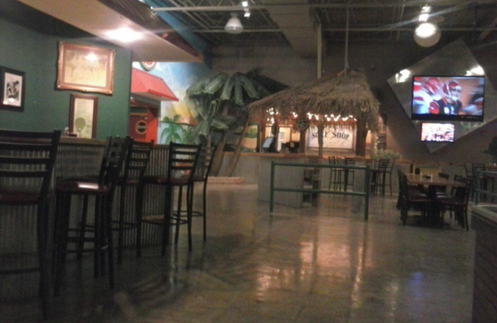 2. Enjoy lunch at the fun and family-friendly Thirsty's Brew Pub and Grill.