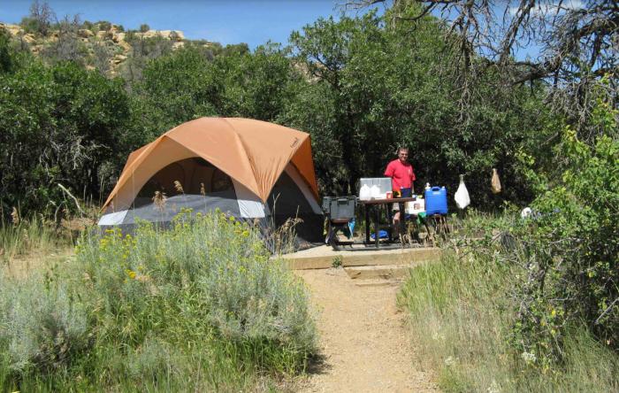 7. Morefield Campground (Mesa Verde National Park)