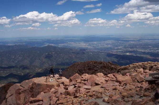 4. Pikes Peak Summit (Colorado Springs)