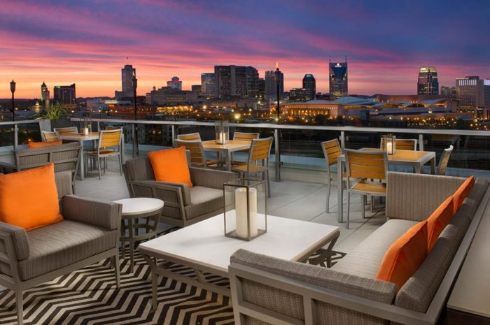 6. Up, A Rooftop Lounge - The Gulch