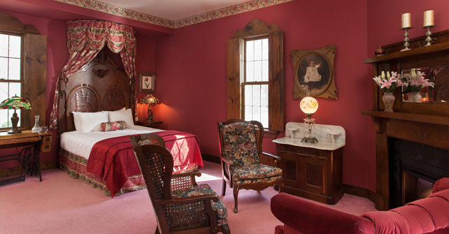 ....and pictured here is the  Queen Victoria Suite.