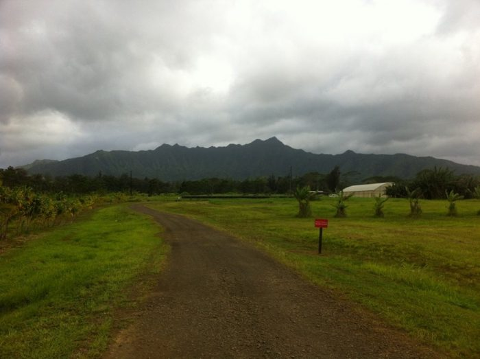 """It is located at the base of Mount Namahana, a landmark of Kauai's north shore that towers 2,600 feet over the plantation, and translates to """"the twin branches"""" in Hawaiian. The mountain shares its name with one of the wives of King Kaumualii, Kauai's last independent ruler."""