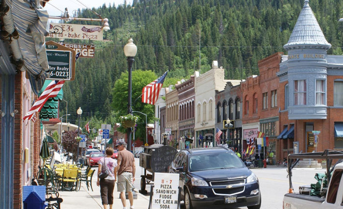 Most Beautiful Downtown Areas/Main Streets in Idaho