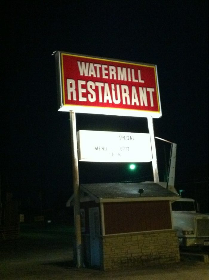 1. Watermill Restaurant at 804 Mammoth Cave Road in Cave City