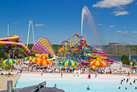 10. Gather up your whole family and check out the nearest water park.