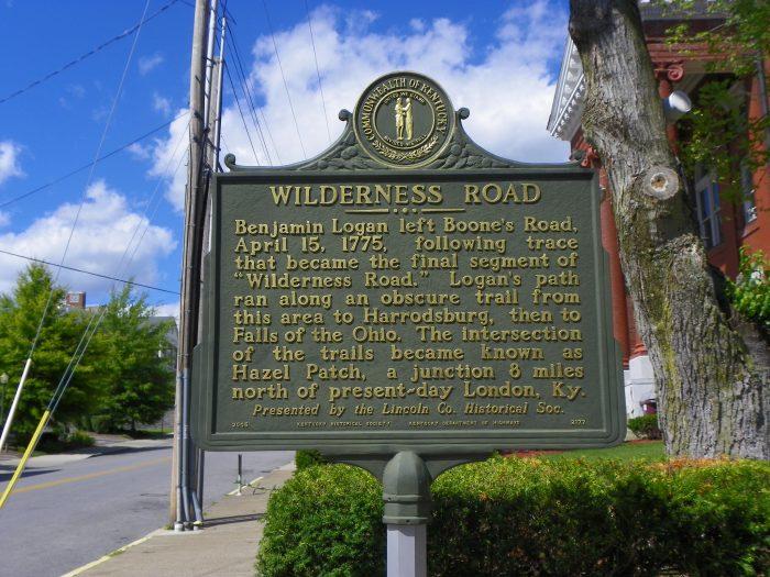 Wilderness Road Heritage Highway.