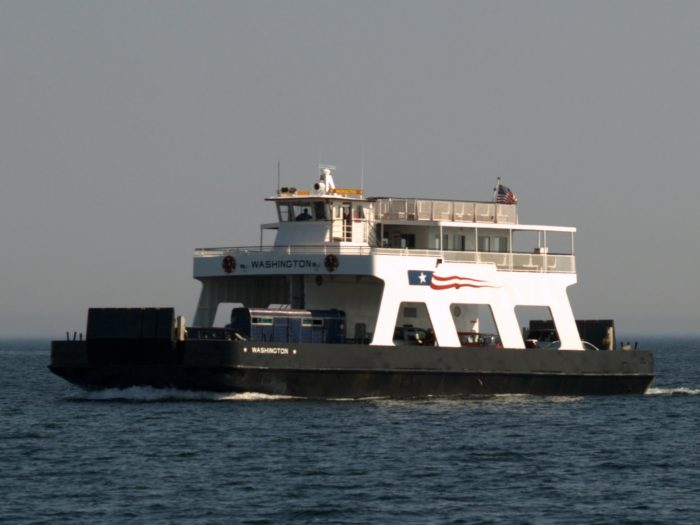 1. Taking the ferry over to Washington Island is actually a super fun part of the experience.