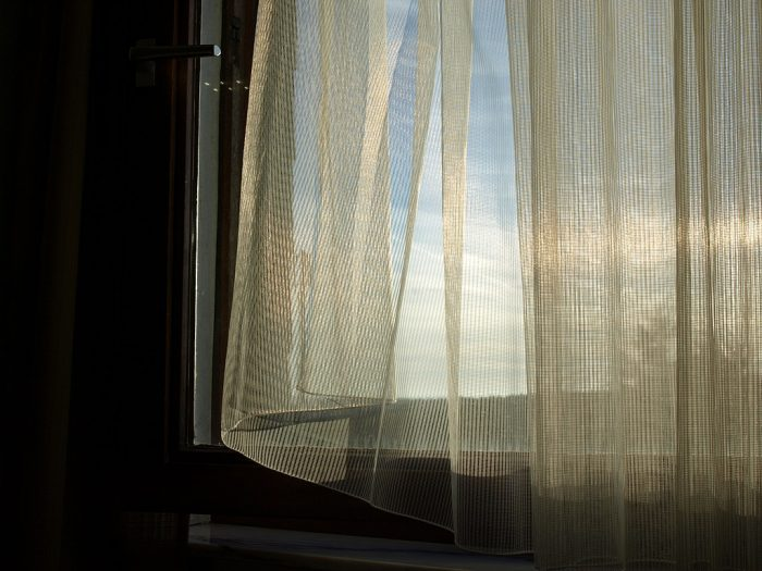 8. Keep your curtains open during the day in the winter.