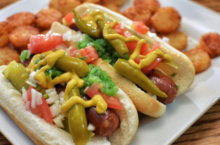 8. Don't ever put ketchup on a hot dog.