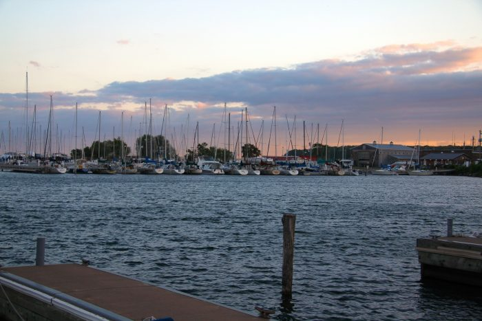 9. There might not be anywhere better to take in a sunset than by the marina.