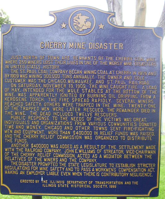 4. There is a plaque commemorating the tragedy.