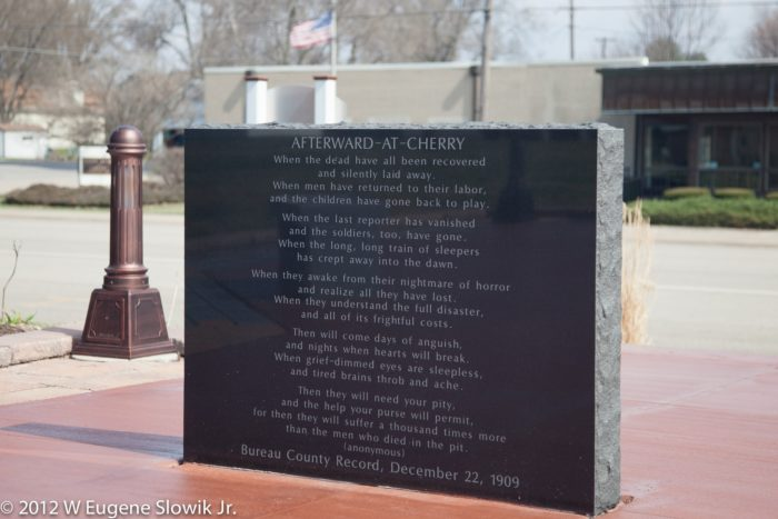 5. And there is a sad but lovely poem commemorating the incident.