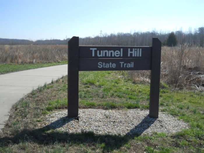 1. The Tunnel Hill State Trail stretches 45 miles, and it goes from Harrisburg to Karnak.