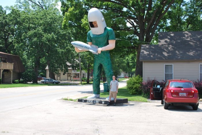5. Gemini Giant (Wilmington)