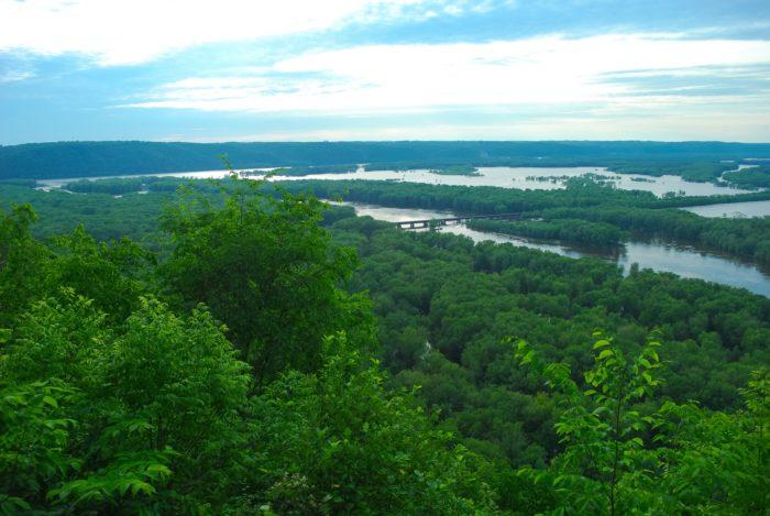 2. Wyalusing State Park (Bagley)
