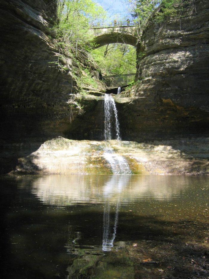 9. Matthiessen State Park (North Utica)