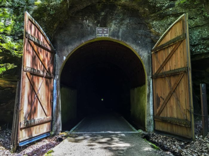 6. The doors were included to prevent snow from filling the tunnels.
