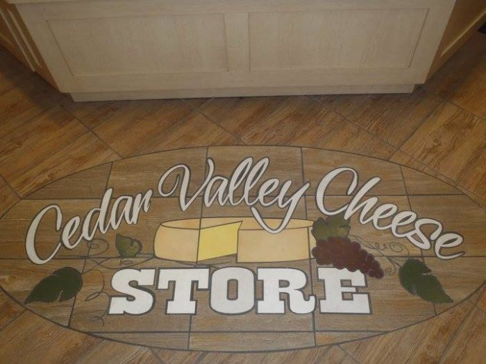 4. Cedar Valley Cheese Store