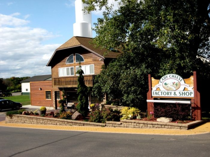 9. Cady Cheese Factory and Shop