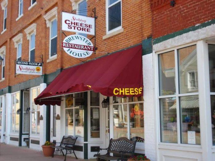 1. Shullsburg Cheese Store