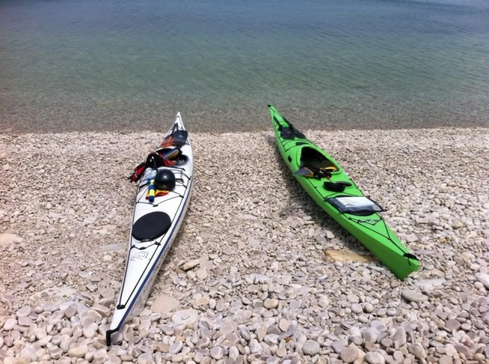 8. It is the perfect place to kayak.