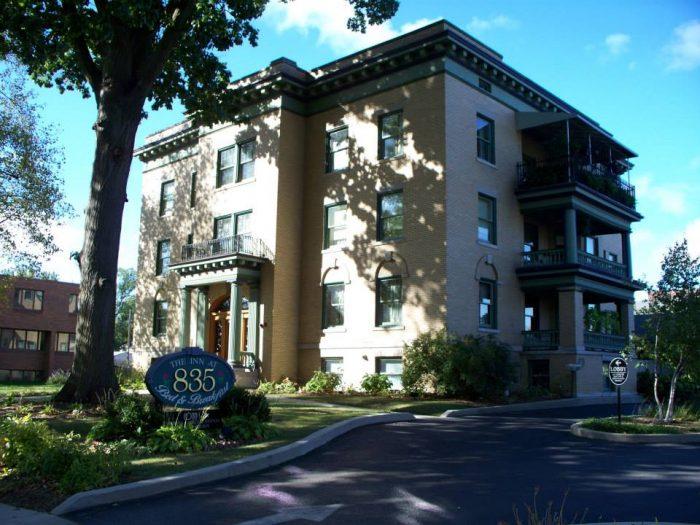 8. Inn at 835 Historic Hotel