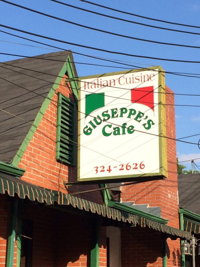 1. Giuseppe's Cafe - Birmingham