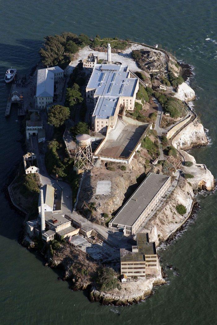 Aerial Shot of Alcatraz