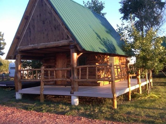 4. The Amidon Campground Cabins in Amidon, ND