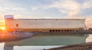 The Massive Full-Scale Biblical Replica Of Noah's Ark In Kentucky Opens Soon