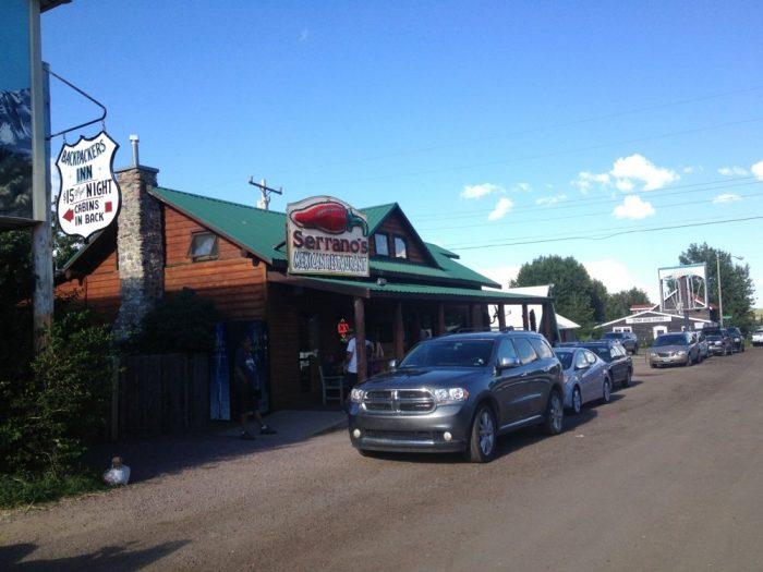 1. Serrano's Backpacker's Inn, East Glacier Park.