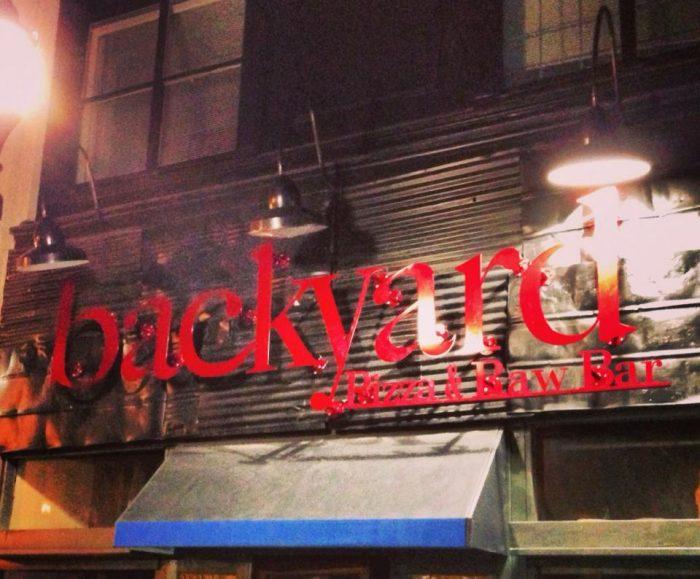 1. Backyard Pizza and Raw Bar, Huntington