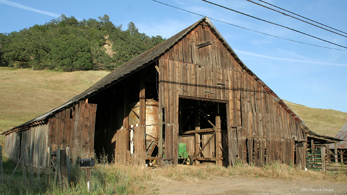 20 Beautiful Old Barns In Northern California