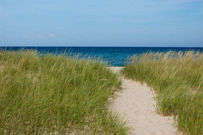 And its sandy, sugary beach.