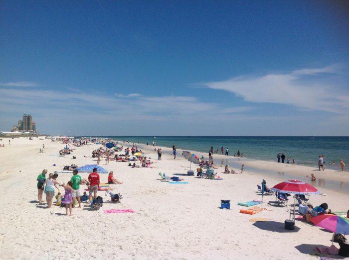 8. Gulf State Park Beach - Gulf Shores