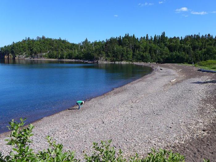 6. Beaver Bay, Minnesota Lake Superior, Agate Beach