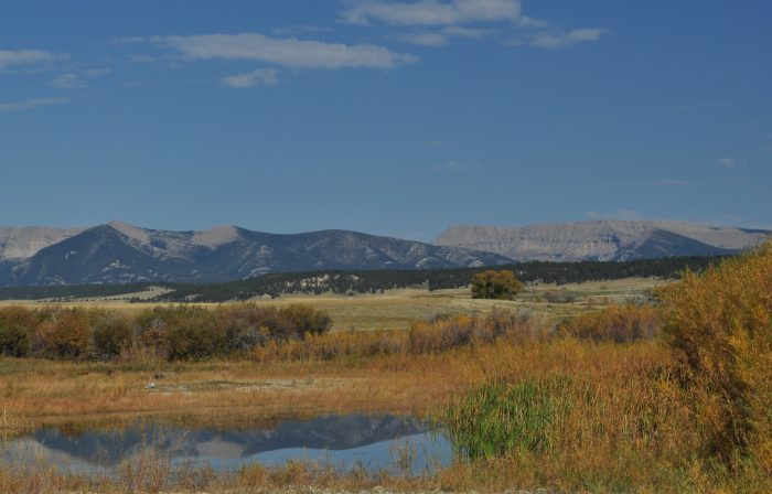9. Take the Big Snowy Mountains Backcountry Drive between Lewistown and Judith Gap.