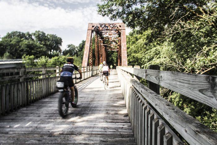 5. Ride a bike.