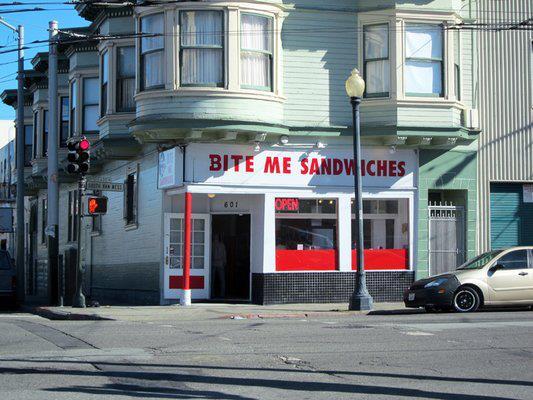 12. Bite Me Sandwiches