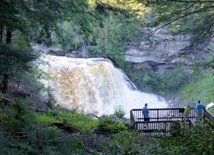 4. Blackwater Falls, Tucker County