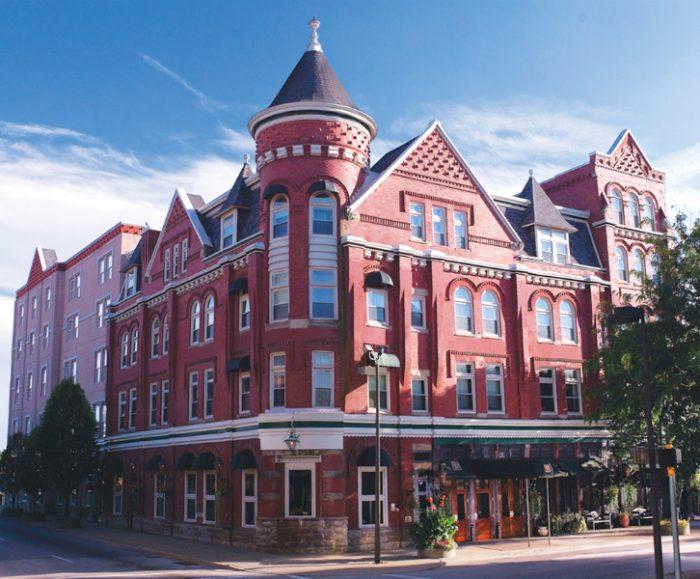 3. The Blennerhassett Historic Hotel, Parkersburg