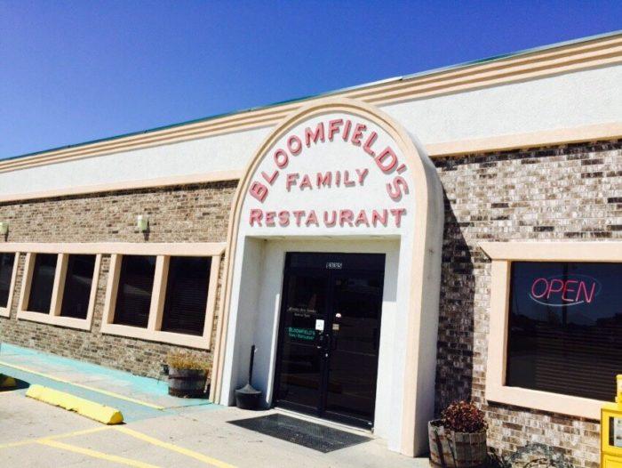 3. Bloomfield's Family Restaurant – Marshall, Mo.