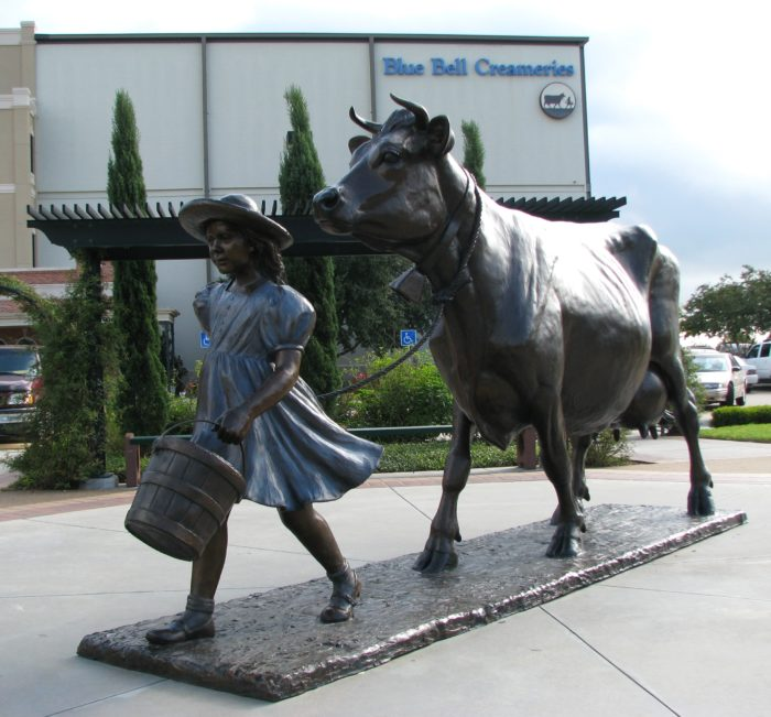 8. Bluebell Creameries in Brenham, Texas