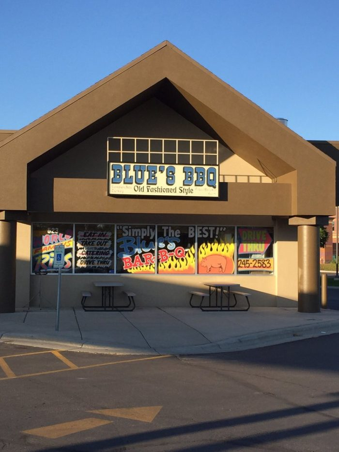 5. Blue's Barbecue, Billings