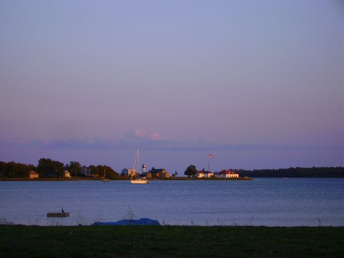 2. To get there, many travel by boat from the town of Charlevoix.