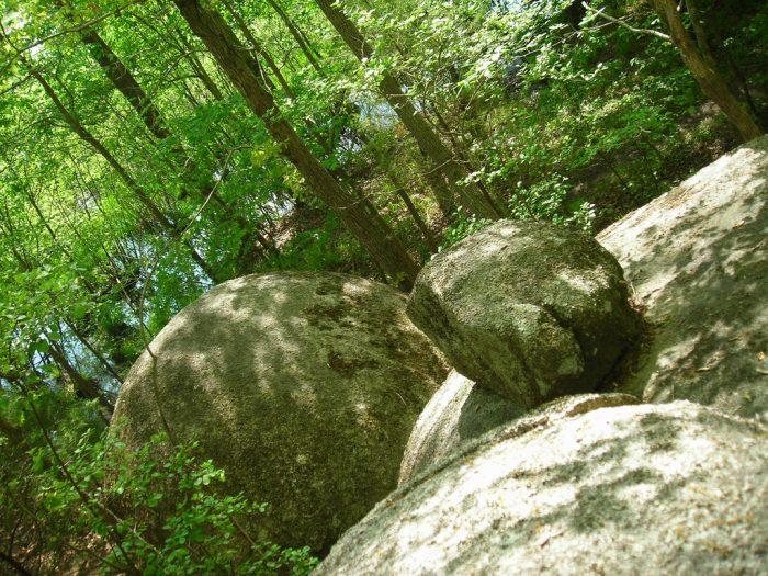 boulders at 40 acre rock