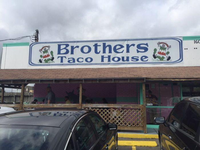 3. Breakfast Taco at Brothers Taco House (Houston)