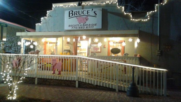8. Bruce's Biscuit and Bar-B-Que—1365 4th Ave, Ste C, Auburn, GA 30011